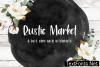 Rustic Market Font