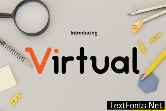 Virtual Font