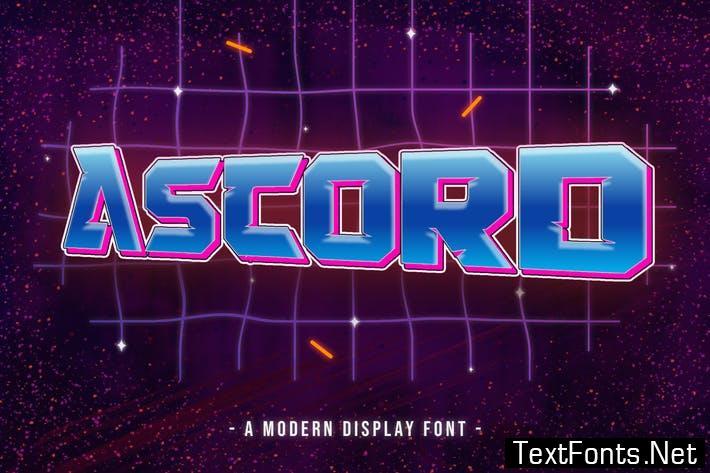 Ascord - Font