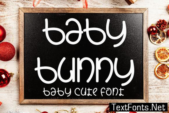 Baby Bunny  Font
