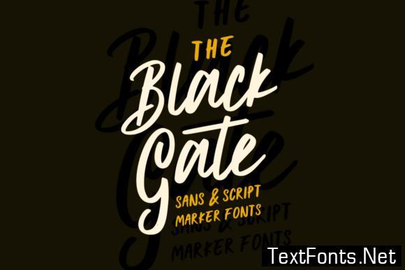 Black Gate Font