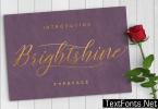 Brightshine Font