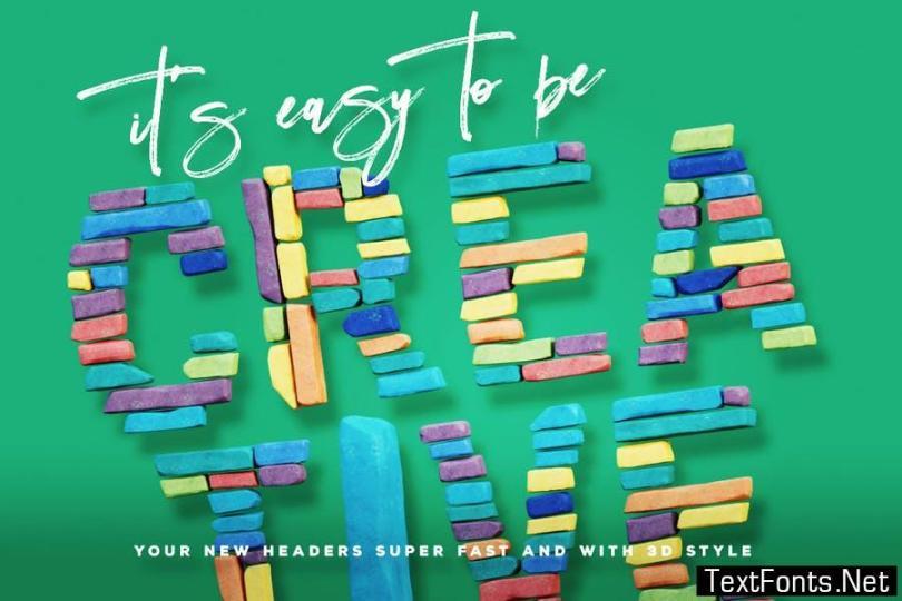 Color Bricks Color Svg Font