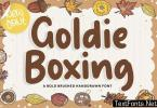 Goldie Boxing YH - Handwriting Font