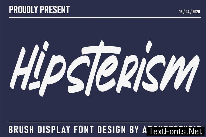 Hipsterism | Display Font