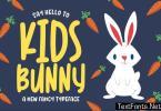 Kidsbunny - a Playful Font