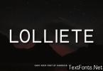 Lolliete Font