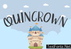 Quincrown Font