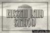 Russian Land Font