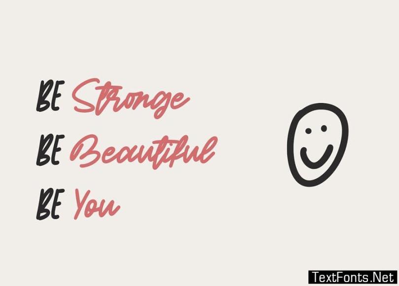Short Message | Handwritten Font