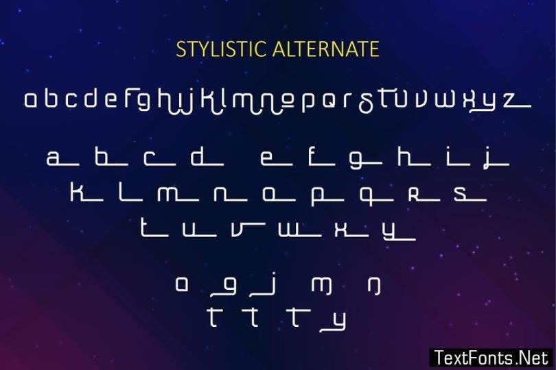 Soularic Font Family