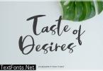 Taste of Desires Font
