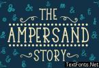 The Ampersand Story Font