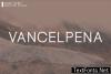 Vancelpena Font