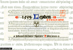 1509 Leyden Font