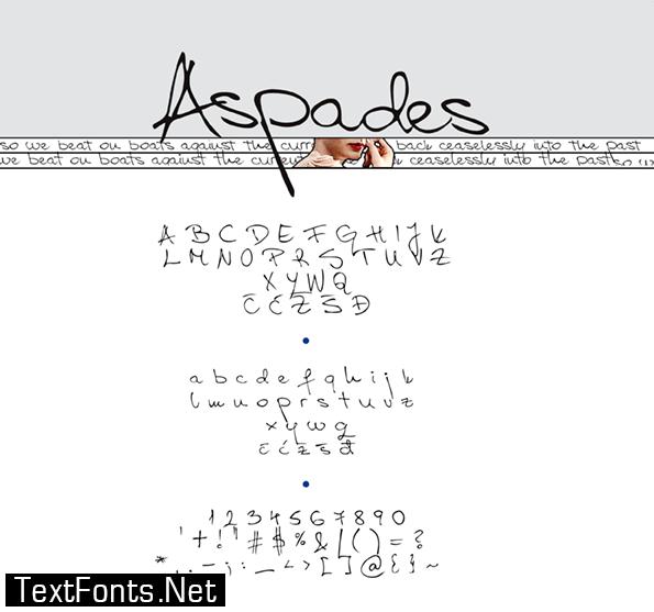 Aspades Font