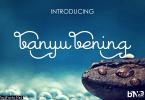 Banyu Bening Font