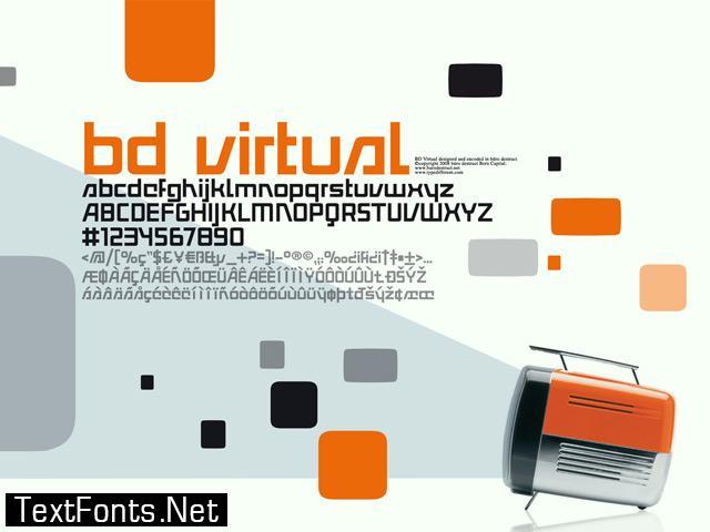 BD Virtual Font