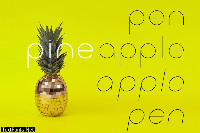 Click Thin Pack Font