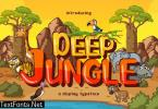 DEEP JUNGLE DISPLAY FONT