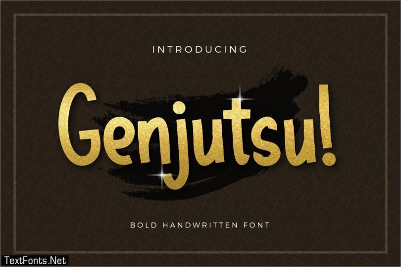 Genjutsu Font