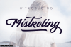 Mistroling Font