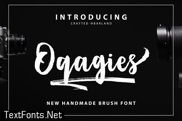 Oqagies Font