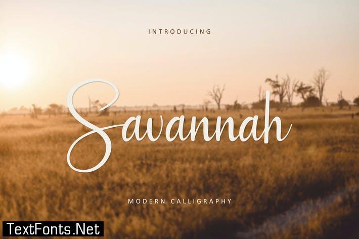 Savannah Font