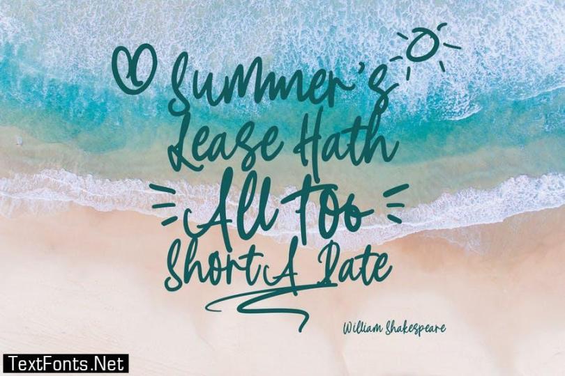 Summer Stylish Font