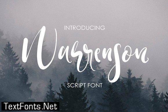 Warrenson Font
