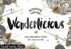 Wonderlicious Font