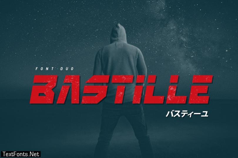 Bastille Font
