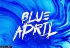 Blue April Font