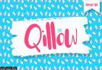Qillow Script Font