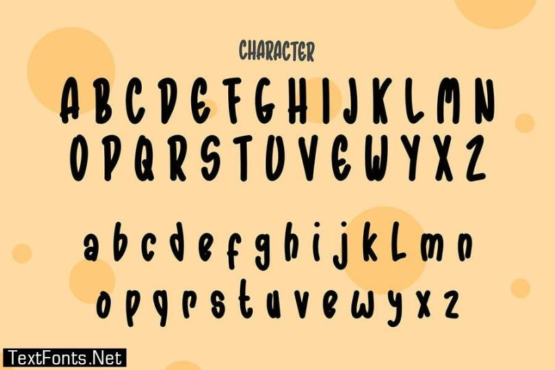 Ratatoileys - Font Handwritten DR