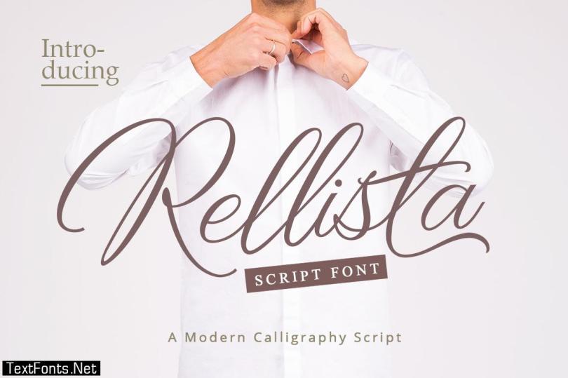Rellista Script Font