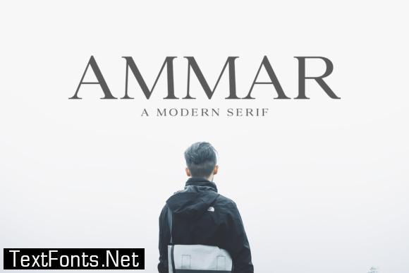 Ammar Family Font