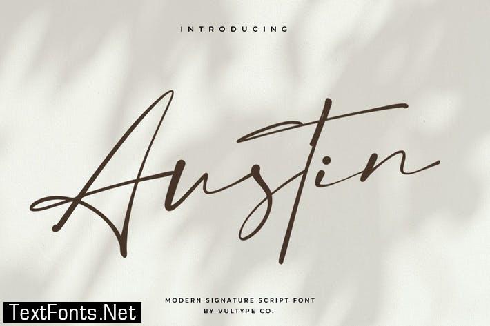 Austin Font