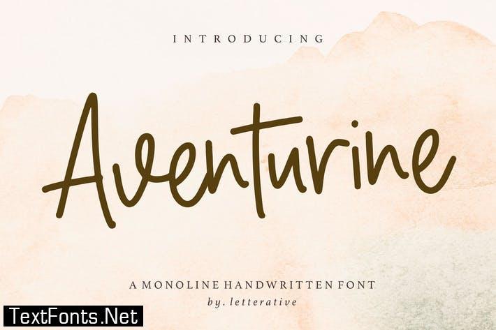 Aventurine Font YH