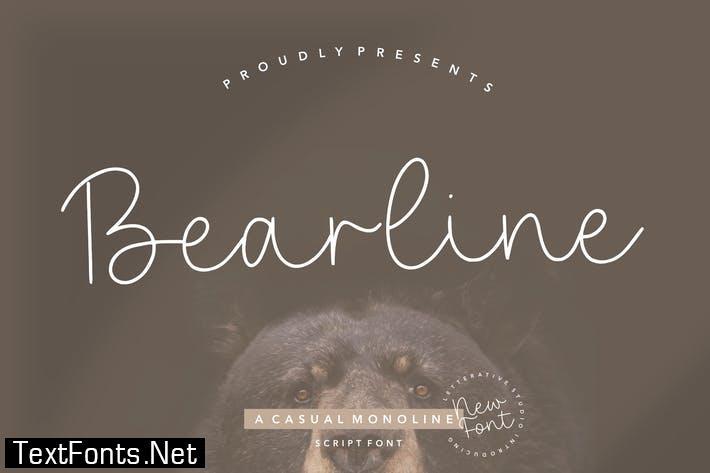 Bearline Signature Font YH