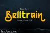 Belltrain Font