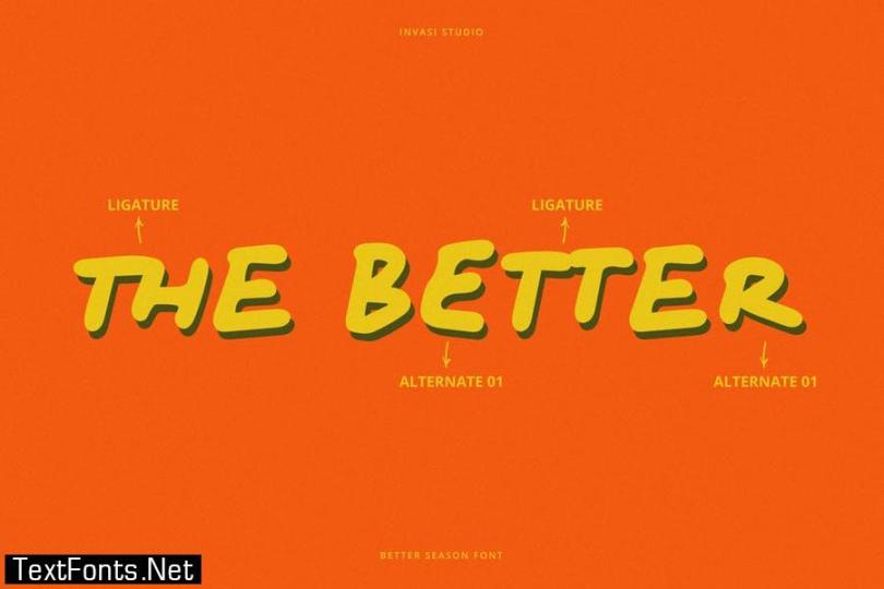 Better Season | Display Font