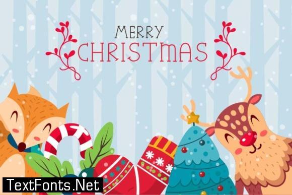 Christmas Mono Font