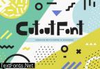 Cutout Font