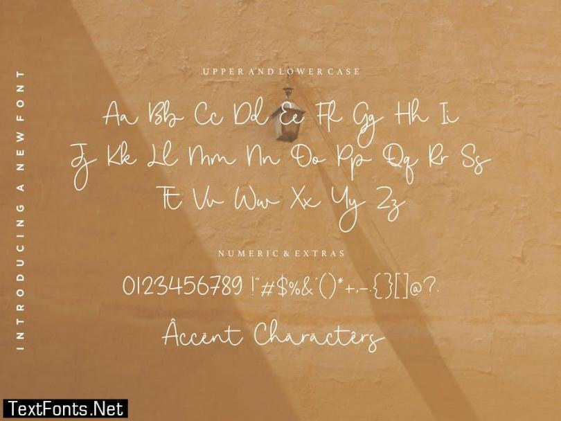 Goldwind Script Font YH