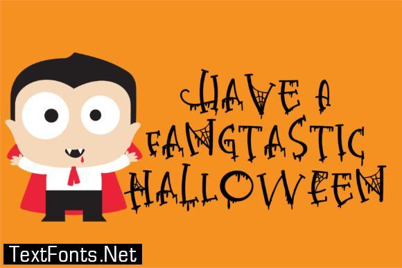 Halloween Elegance Font