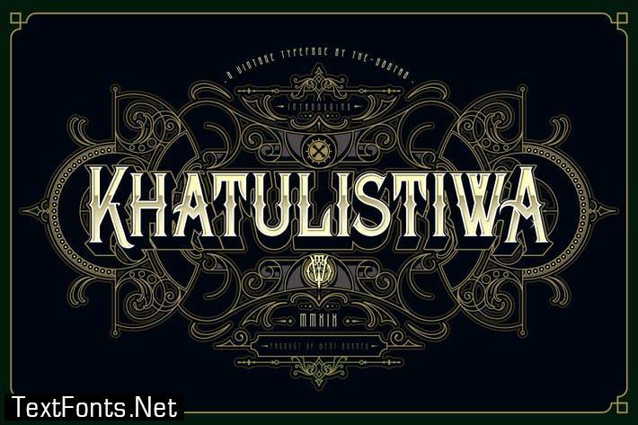 Khatulistiwa typeface