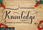 Knowledge Font