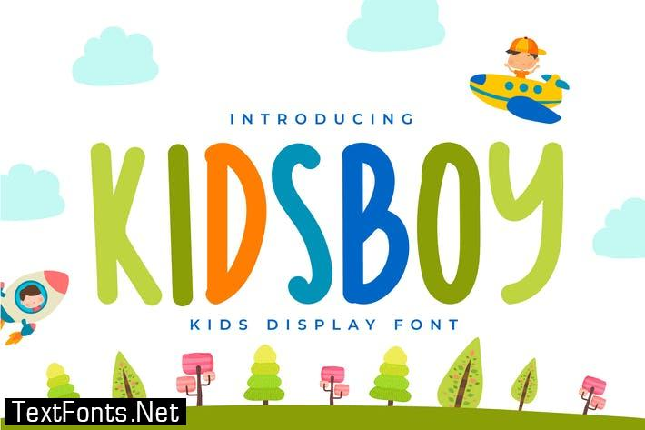 QR KIDSBOY Font