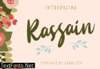 Rassain Script Font
